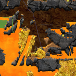 Screenshot of Acid Gold Mine scenario