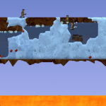 Screenshot of Hot Ice scenario