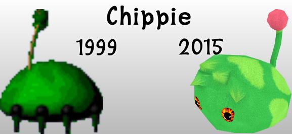 Chippie: 1999 vs 2015