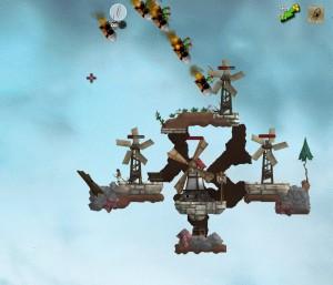 Guardians of the Windmills has been one of the first scenarios in Open Clonk. Now it's completely overhauled!